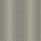 DN3774 - Candice Olson Brown Impulse Textured Striped Wallpaper