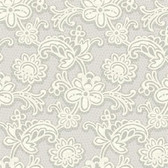Candice Olson Shimmering Details DE8812 Modern Lace Silver-White Wallpaper