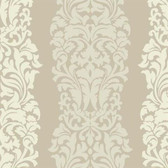 DN3804 - Candice Olson Modern Luxe Gold Harmony Striped Wallpaper