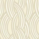 Cream GM1229 Braid Pattern Wallpaper