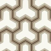 Grey GM1243 Faux Puzzle Wallpaper