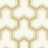Beige GM1244 Faux Puzzle Wallpaper