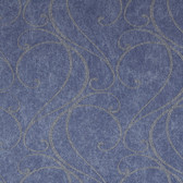 Blue LS6160NA Faux Ironworks Wallpaper