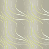 Grey NA0243 Tonal Flowing Lines Wallpaper