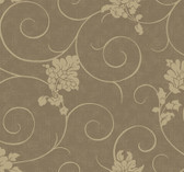 Brown AN2781 Viviana Wallpaper