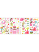 Border Book Happy Cupcake Land Wall Decals - RMK1605SCS
