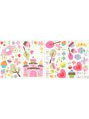 Border Book Happy Cupcake Land Wall Decals - RMK1605SCS