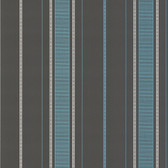 Accents DL30486 Gavin Aqua Stripe Wallpaper