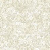 Arbor Rose Finley Regal Damask Oyster Wallpaper ARB67542
