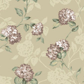 Arbor Rose Floral Trail Mauve Wallpaper ARB67554