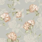 Arbor Rose Floral Trail Rosewood Wallpaper ARB67555