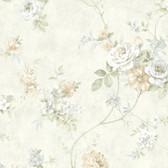 Arbor Rose Floral Parchment Wallpaper ARB67503