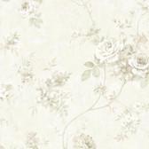 Arbor Rose Floral Chiffon Wallpaper ARB67506