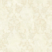 Arbor Rose Bentley Damask Cream Wallpaper ARB67576