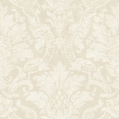 Cynthia Distressed Damask Linen Wallpaper AL13651