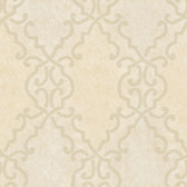 Bernaud Persian Diamond Champagne Wallpaper AL13681
