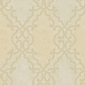 Bernaud Persian Diamond Oat Wallpaper AL13682