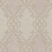Bernaud Persian Diamond Mauve Wallpaper AL13683
