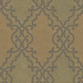 Bernaud Persian Diamond Peanut Wallpaper AL13684