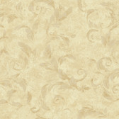 Edith Acanthus Brushstroke Hazelwood Wallpaper AL13717