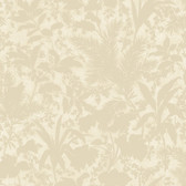 Fauna Silhouette Leaves Hazelwood Wallpaper AL13752