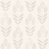 Skye Block Print Tulip Mauve Wallpaper 2532-20650