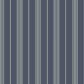 Ashford Stripes Tailor Stripe Wallpaper SA9104 in Blue, Grey and Tan