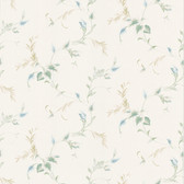 Felix Leaf Trail Salt Wallpaper 2532-88400