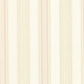 302-66810 La Belle Maison Manor Stripe Pink-Cream Wallpaper