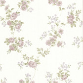 La Belle Maison Blossom Rose Trail Mauve Wallpaper 302-66872
