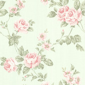 302-66874 La Belle Maison Bloom Floral Trail Rose Wallpaper