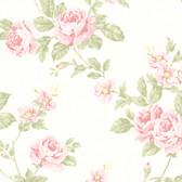 La Belle Maison Bloom Floral Trail Pink Wallpaper 302-66875