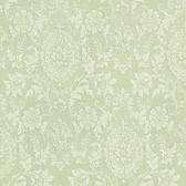 302-66884 Ornament Damask Motif Olive Green Wallpaper