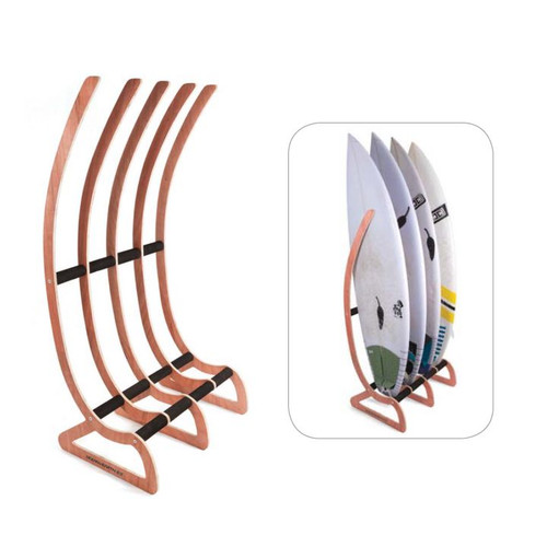 Timber Free Standing Surfboard Storage Rack