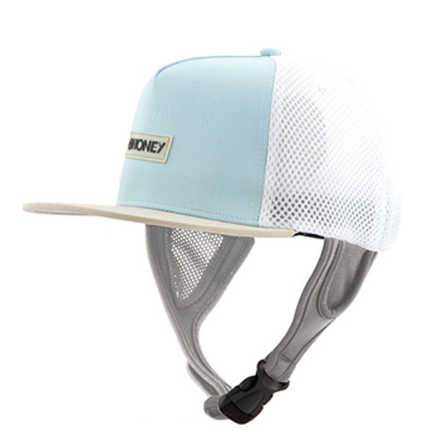 Ladies Kuta Mesh Trucker Surf Hat   Aqua