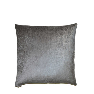 Empress Casandra Grey Shimmer Throw Pillow 24x24