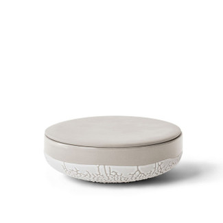 Lichen Ceramic Textured Box - Small