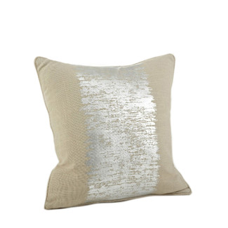 Eleni Metallic Banded Accent Pillow