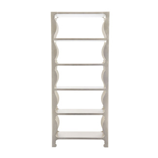 Silver Leafed Etagere