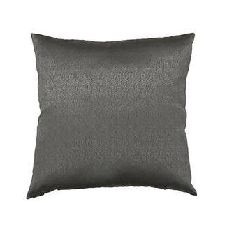 Silver Feather Down Throw Pillow 24 x 24