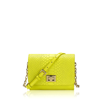 Neon Yellow Crossbody Bag