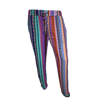 Tribal Stripes Pants - Multicolor