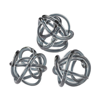 Glass Knots - Set of 3