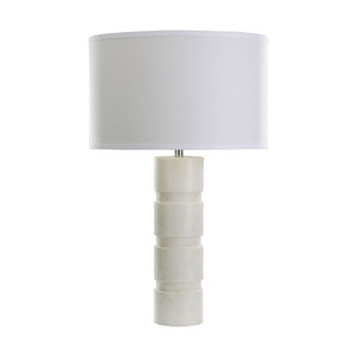 white marble pillar table lamp - Modern Table Lamp