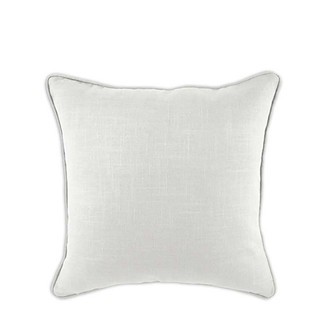 Solid Ivory Down Pillow