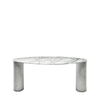 Oval Uliano Marble Console
