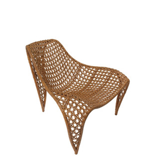 Natural Woven Patio Chair