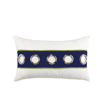Navy Cruise Horizontal Lumbar Accent Pillow