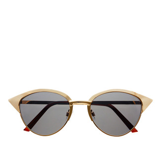 Paulina Cat Eye Sunglasses - Gold