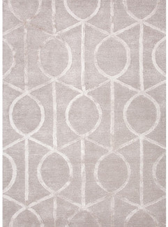 Hand-Tufted Geometric City Area Rug